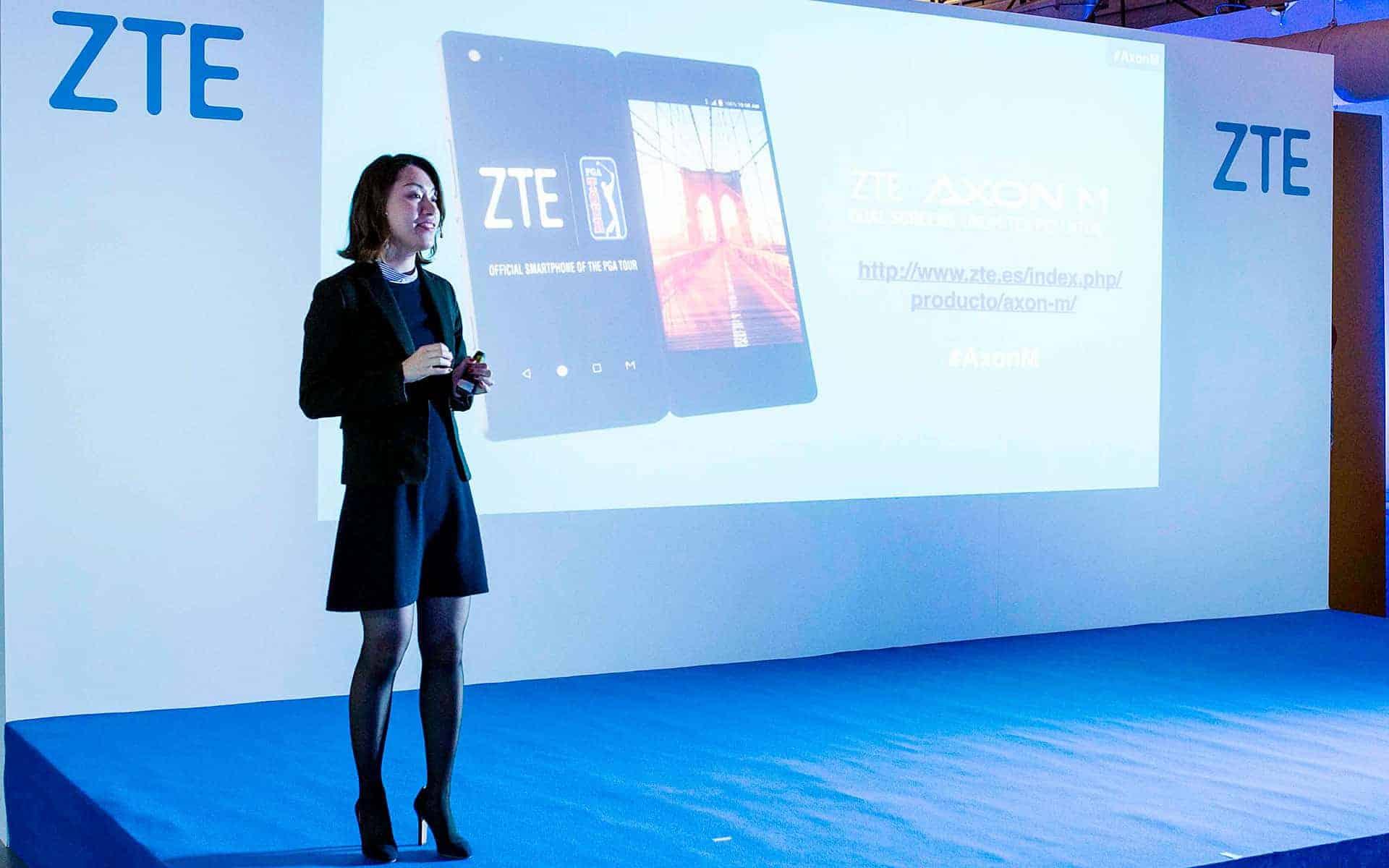 Agencia COONIC | Presentación AXON M 2018 DE ZTE | Salas MEEU