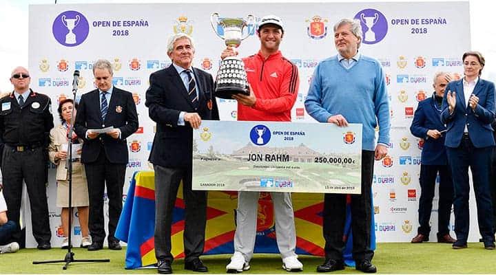 Evento Deportivo   Open España Golf 2018