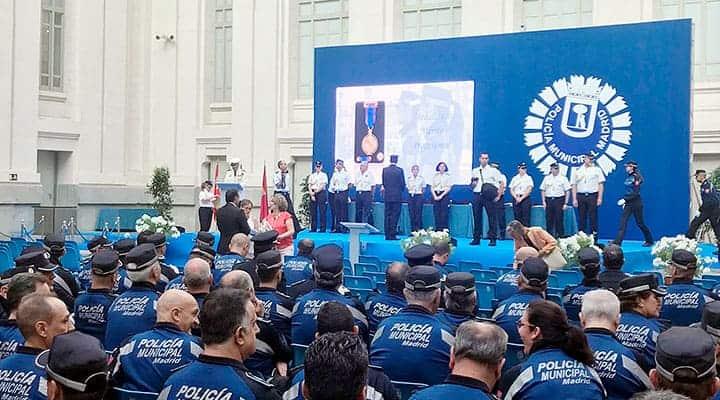 Entrega de Medallas Policia Municipal de Madrid   Palacio de Cibeles