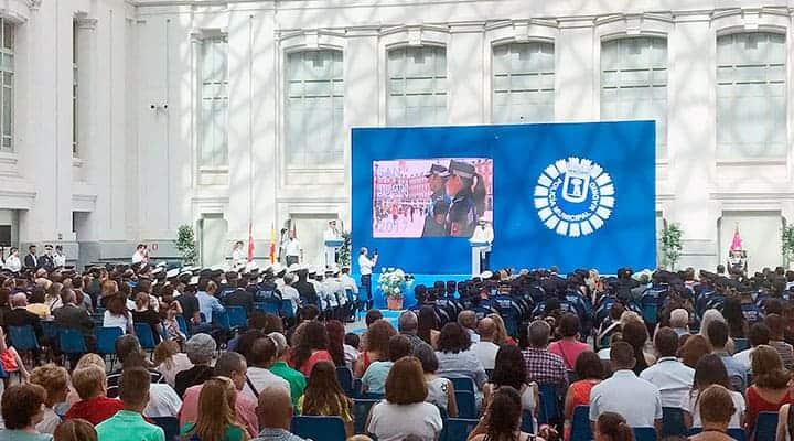 Entrega de Medallas Policia Municipal de Madrid | Palacio de Cibeles