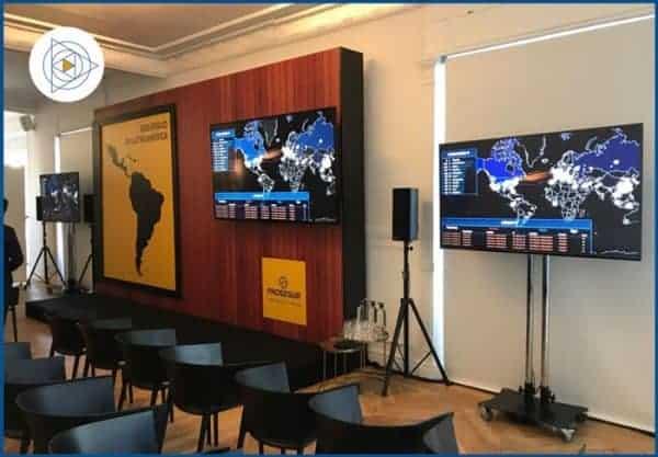 Alquiler de Pantallas | Servicios Audiovisuales para Eventos