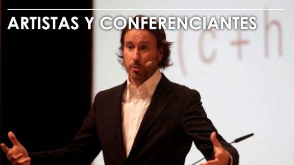 Artistas y Conferenciantes | Producción Integral de Eventos